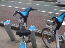 富山駅前 レンタルサイクル 2013年3月14日